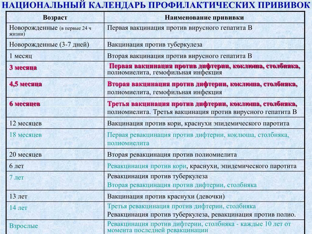 Прививка корь, краснуха, паротит: когда проводится, виды вакцин