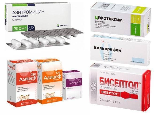 Антибиотик при бронхите у детей: названия препаратов и какие лучше принимать для лечения?