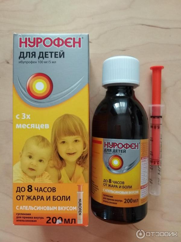 Инструкция по применению нурофен® детский (суспензия)