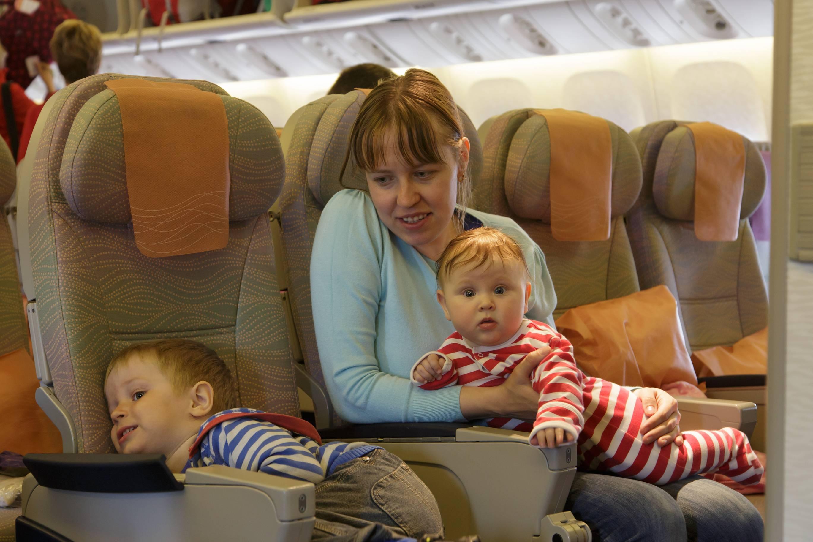 Перелет с ребенком: 7 важных моментов