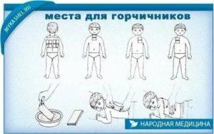 Горчичники при кашле и бронхите детям и взрослым