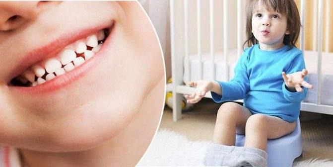 Понос при прорезывании зубов: сколько длится и нужно ли лечить