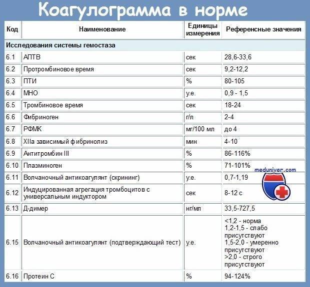 Коагулограмма при беременности - расшифровка показателей, норма и прочие аспекты