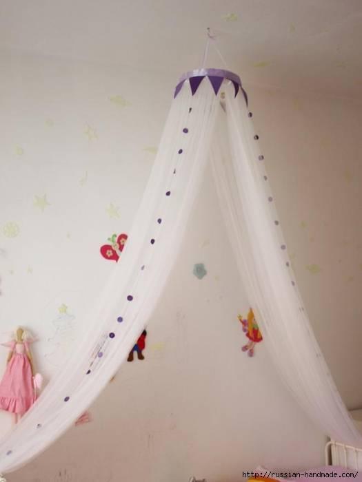 Мастер класс балдахин на детскую кроватку