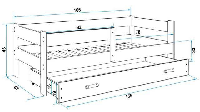Размеры детских кроваток для новорожденных и их фото: какая длина и ширина является стандартной, а также какие габариты лучше всего подойдут для младенца?