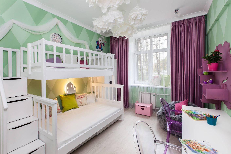 Дизайн детской комнаты для двоих детей — идеи обустройства