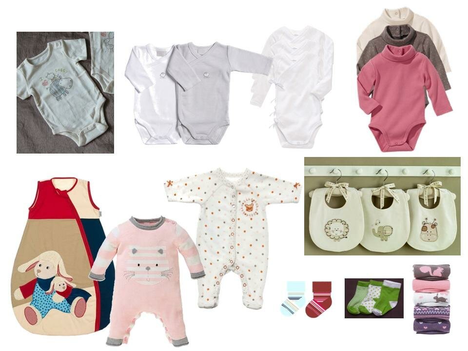Первые вещи для новорождённого зимой | 9 наименований