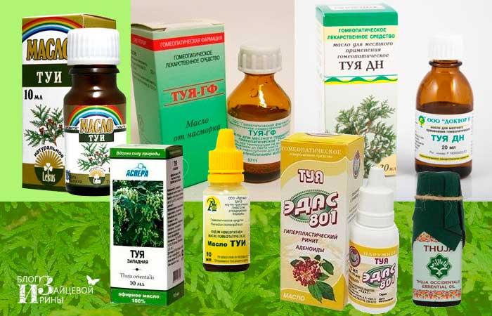 Как правильно использовать масло туи при аденоидах у ребенка
