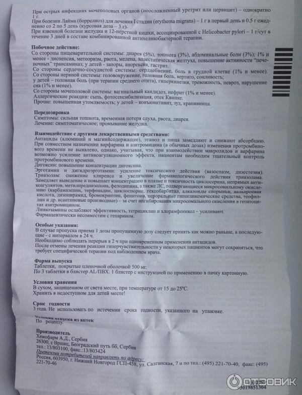 Инструкция по применению суспензии для детей хемомицин