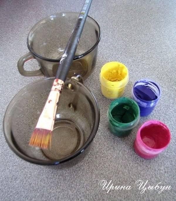 Чем покрасить щебень для ландшафтного дизайна, технология покраски
