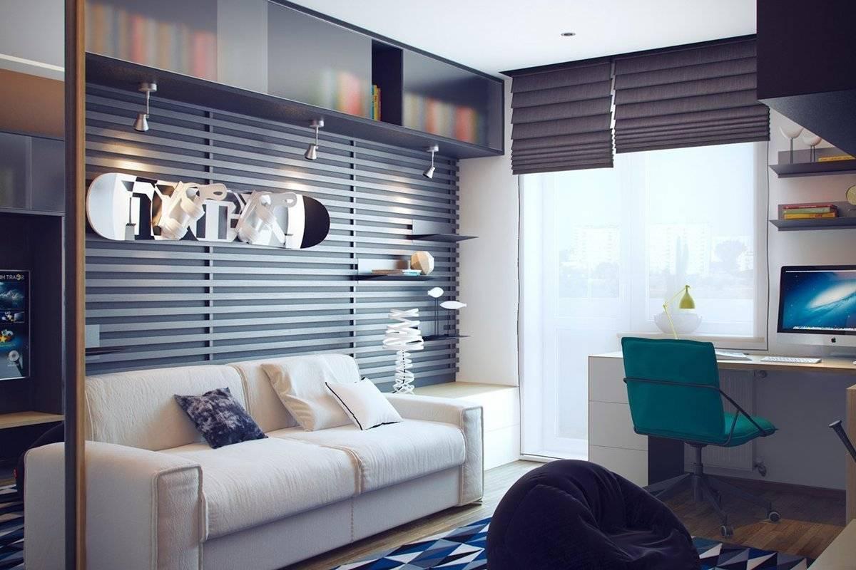 Комната для подростка: дизайн интерьера с фото, идеи ремонта в современном стиле, декор