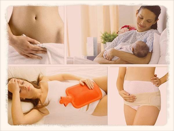 Послеродовое пеленание женщины