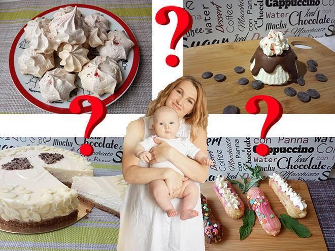 Сладкое для кормящей мамы. что из сладкого можно при грудном вскармливании: рецепты полезных десертов и обзор сладостей для кормящей мамы