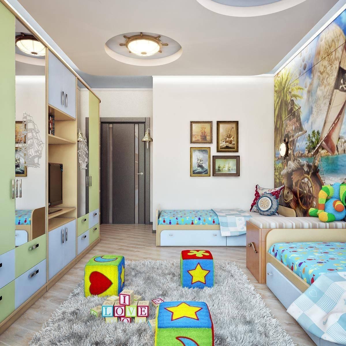 Детская 8 кв м: методы оформления интерьера, фотографии примеров дизайна