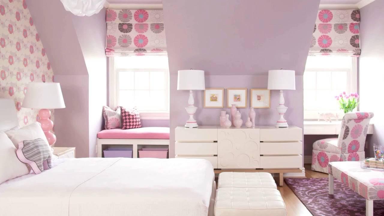 Обои для детской комнаты девочек: 30 фото в интерьере