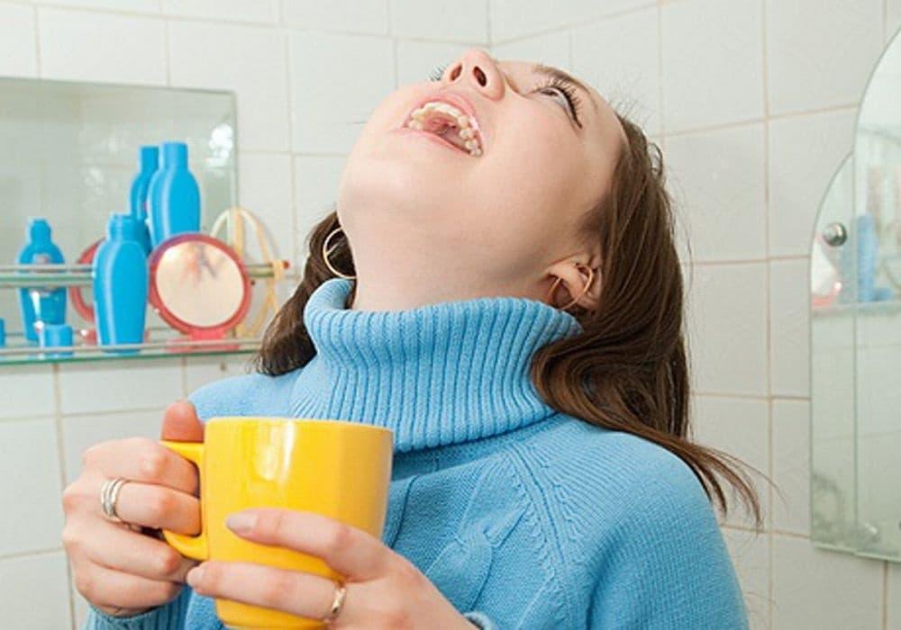 Ангина у ребёнка: чем полоскать горло, как правильно делать промывание