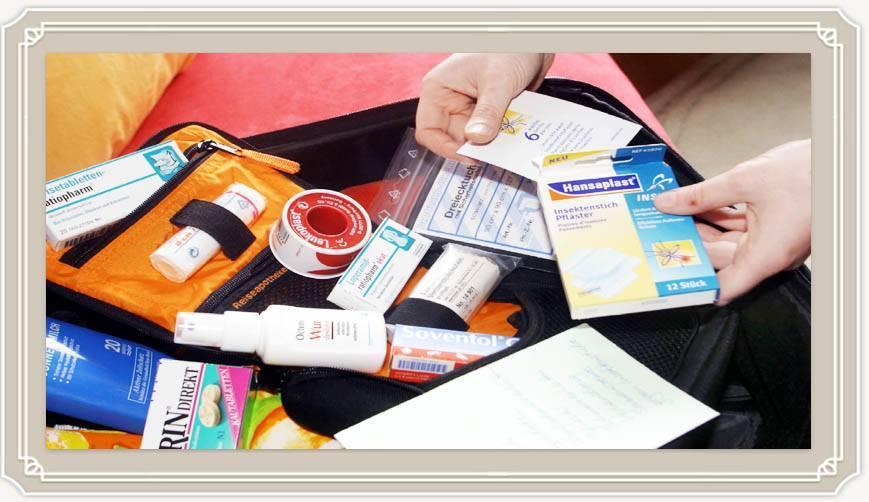 Аптечка на море список лекарств на отпуск notagram.ru