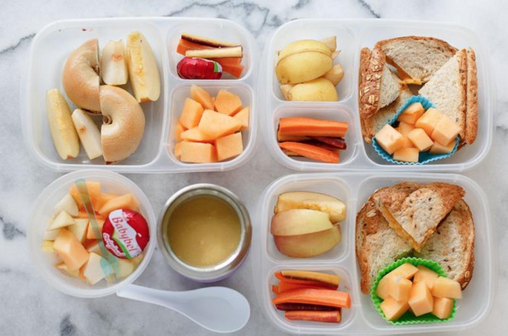 Какую еду взять в школу? 4 ланч-бокса для детей, рецепты. рецепты для детей в школу