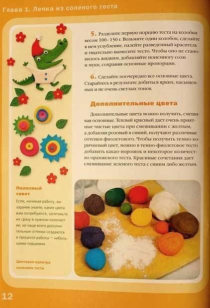 Соленое тесто для лепки: как сушить поделки из соленого теста - способы сушки изделий