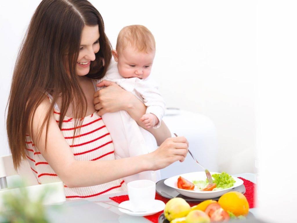Правильное питание после родов: ограничения в зависимости от возраста грудничка
