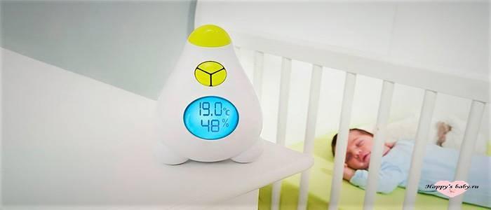 Оптимальная температура для сна новорожденного. какой должна быть температура в комнате для новорожденного