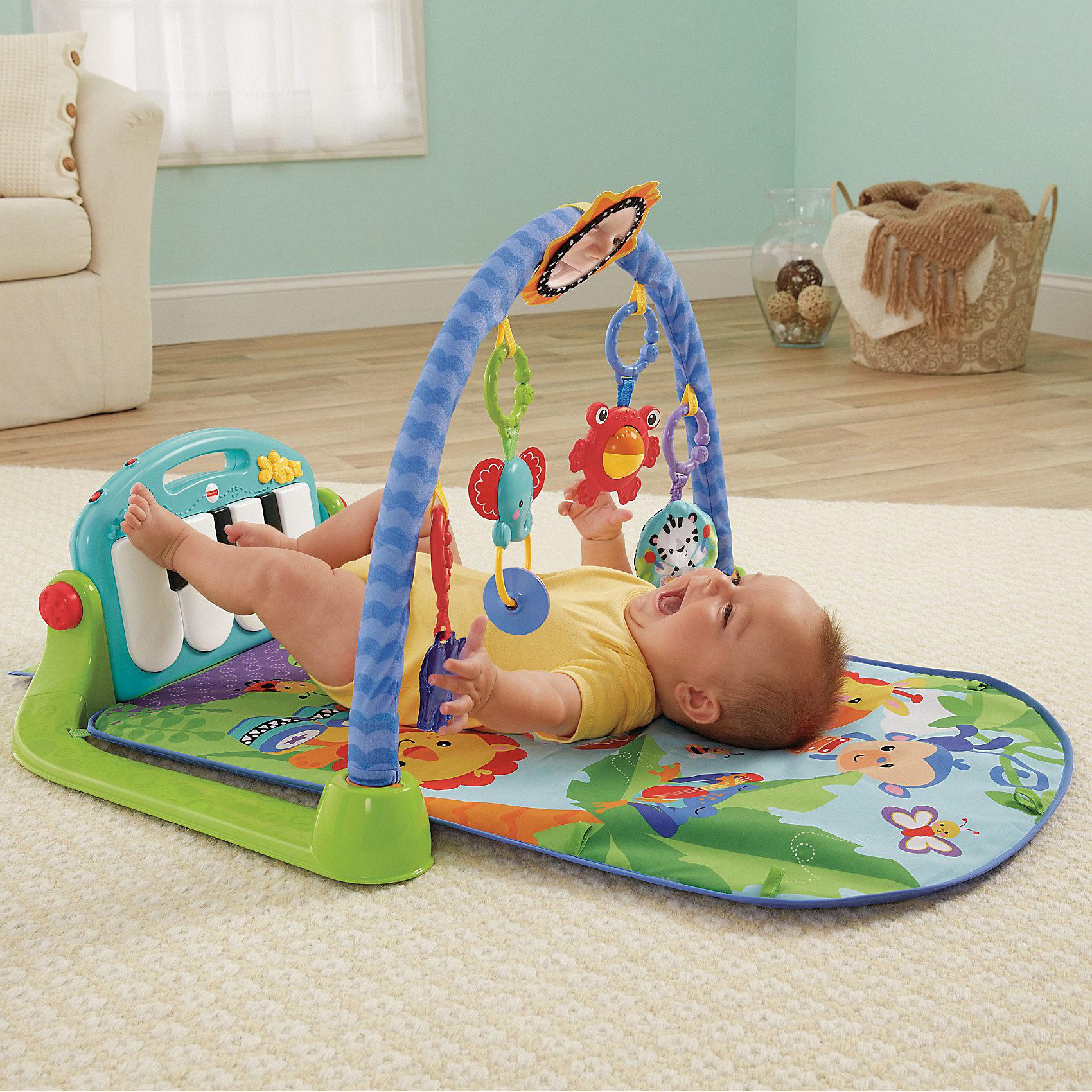 Выбираем самый лучший детский развивающий коврик