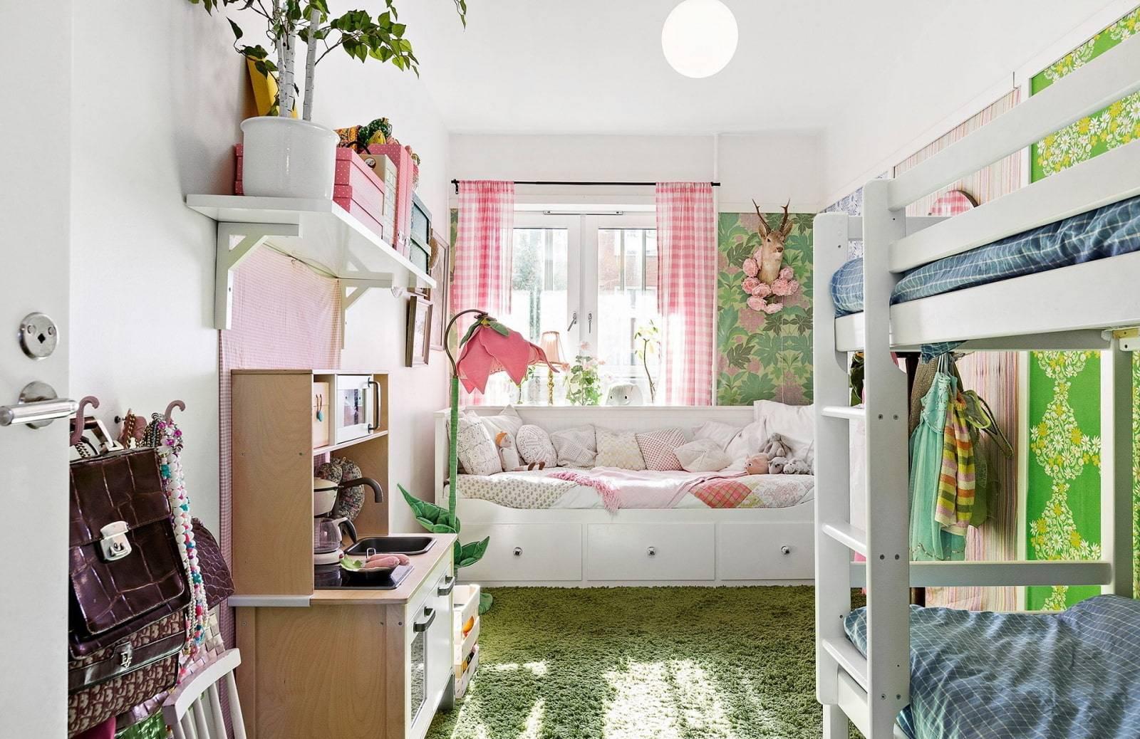 Комната для 3 детей – 8 советов и фото интерьеров