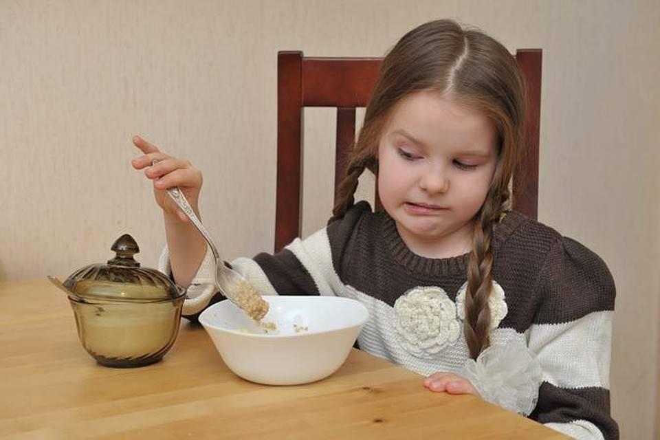 Плохой аппетит у ребенка 3 года