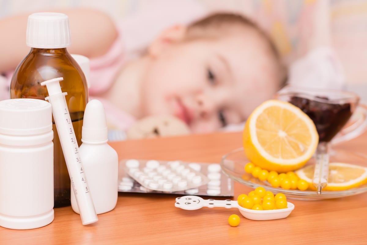 Эффективные народные средства для лечения простуды у детей