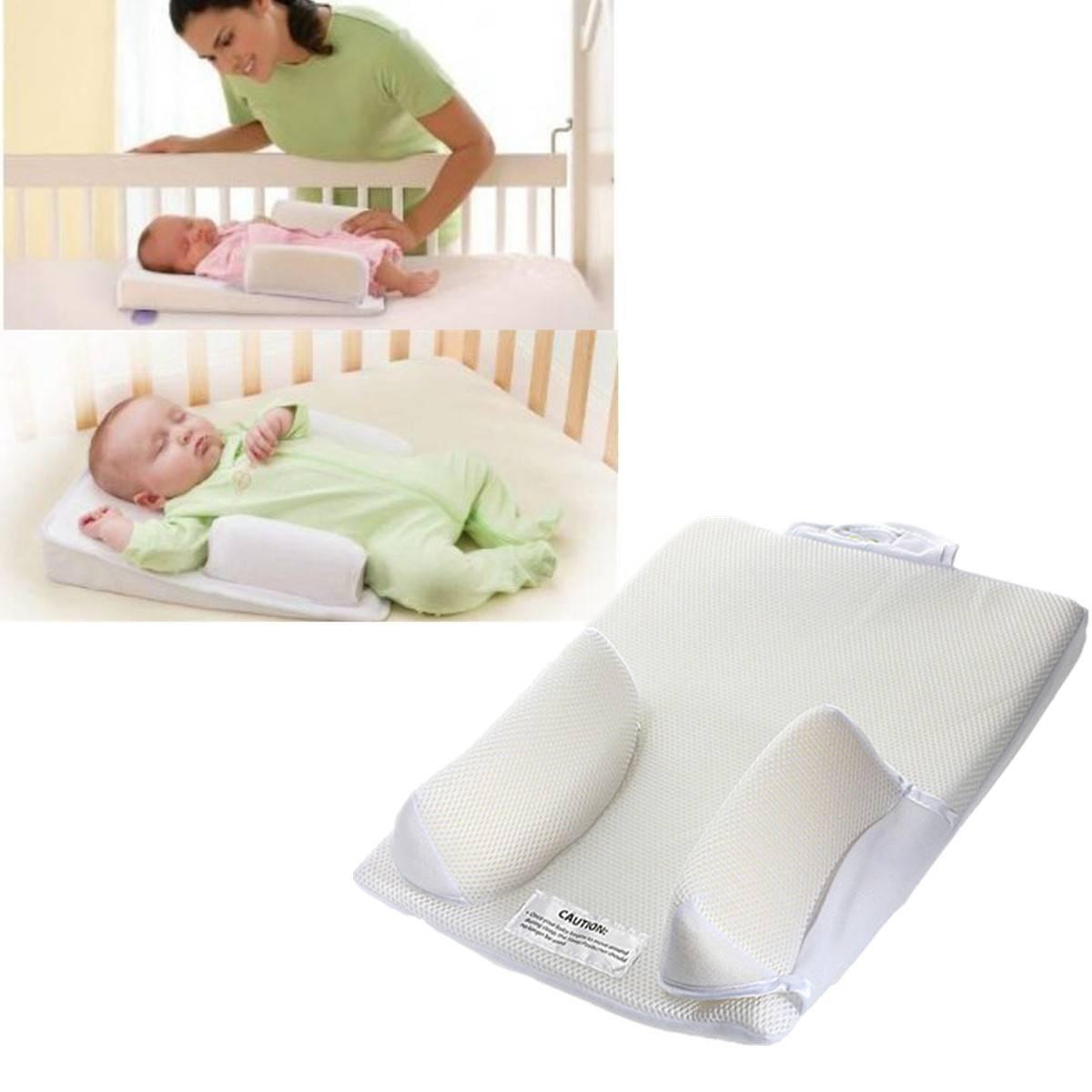 Позиционер для сна новорожденного назначение, изготовление своими руками