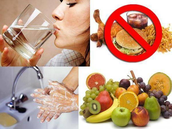 Самые главные ключевые моменты диеты для детей во время болезни