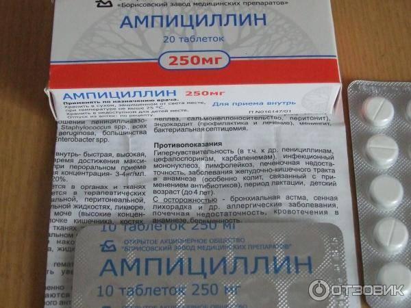 Ампициллин (ampicillin): описание, рецепт, инструкция