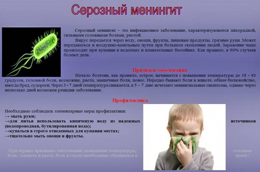 Симптомы и последствия менингококковой инфекции у детей