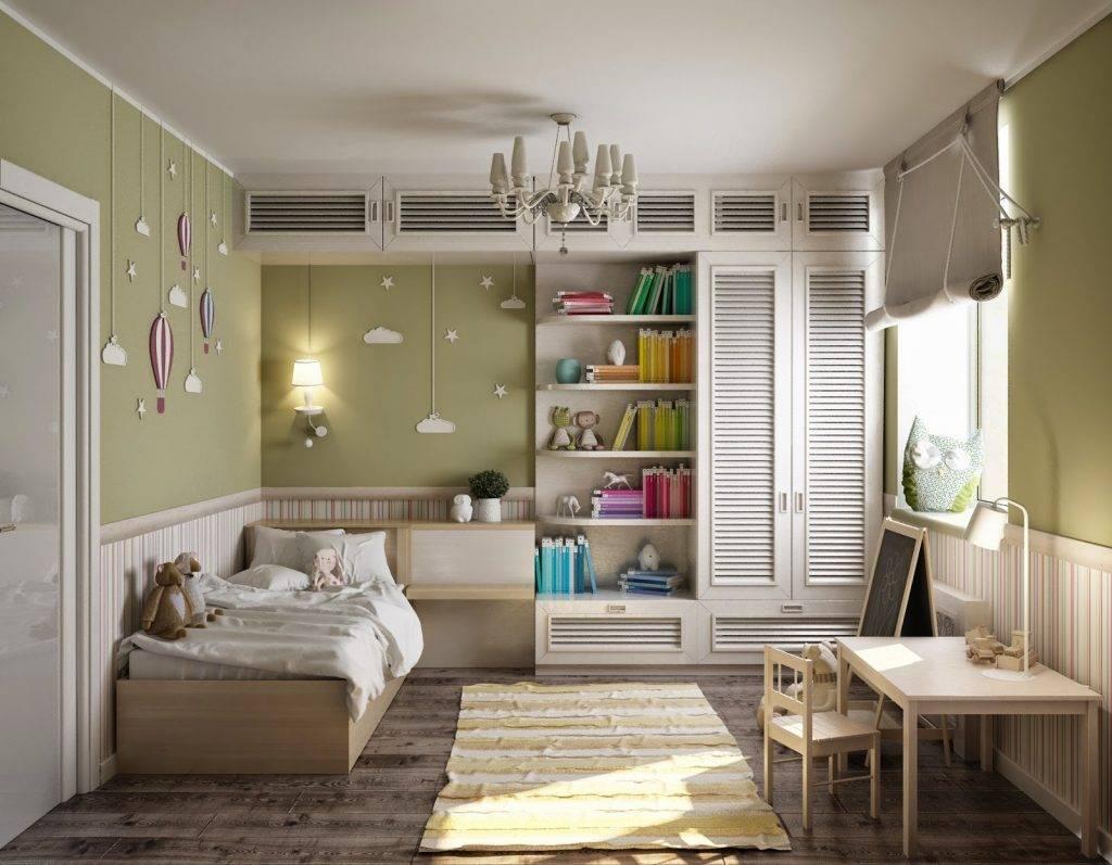 Детская 14 кв. м. — примеры оптимального дизайна интерьера и советы по оформлению детской (105 фото)