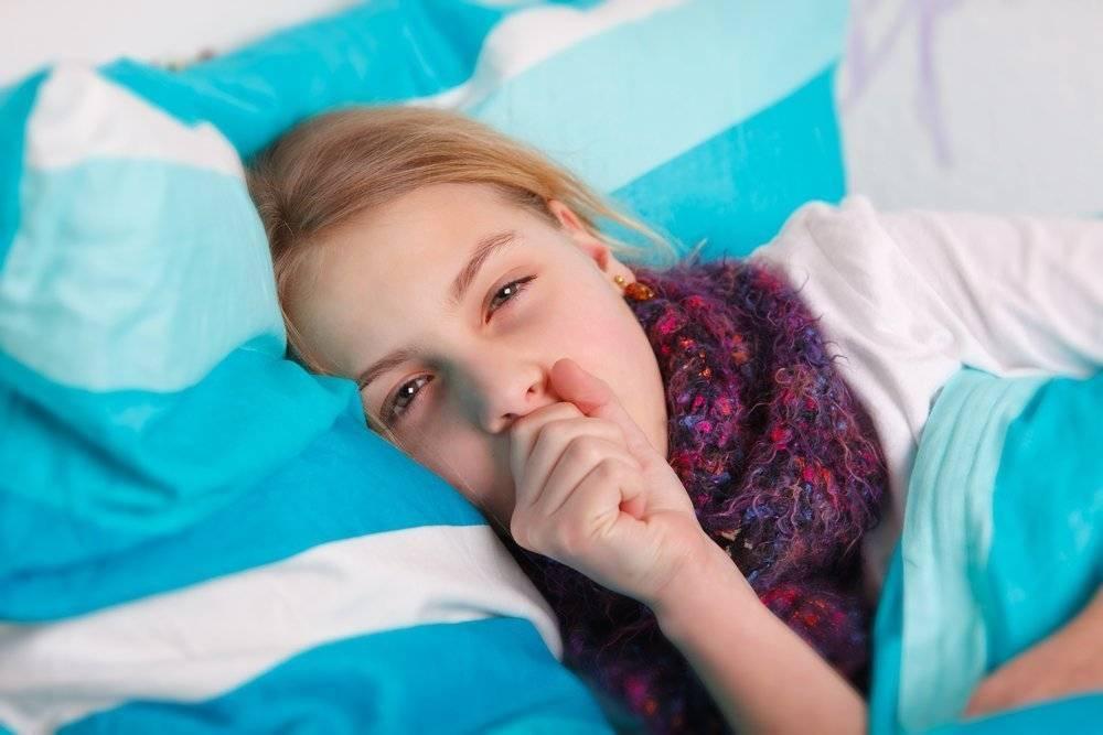 Ребенок кашляет во сне – причины, что делать