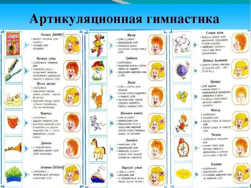 Речевые игры для детей 4-5 лет, упражнения, задания, картинки