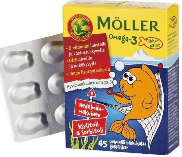 Омега-3 для детей: какой препарат лучше