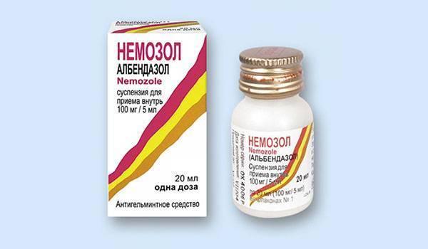 Немозол суспензия и таблетки для детей и взрослых — инструкция по применению