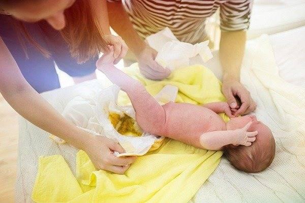 Понос при прорезывании зубов у ребенка