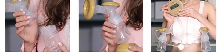 Как пользоваться молокоотсосом (ручным и электрическим): правила применения
