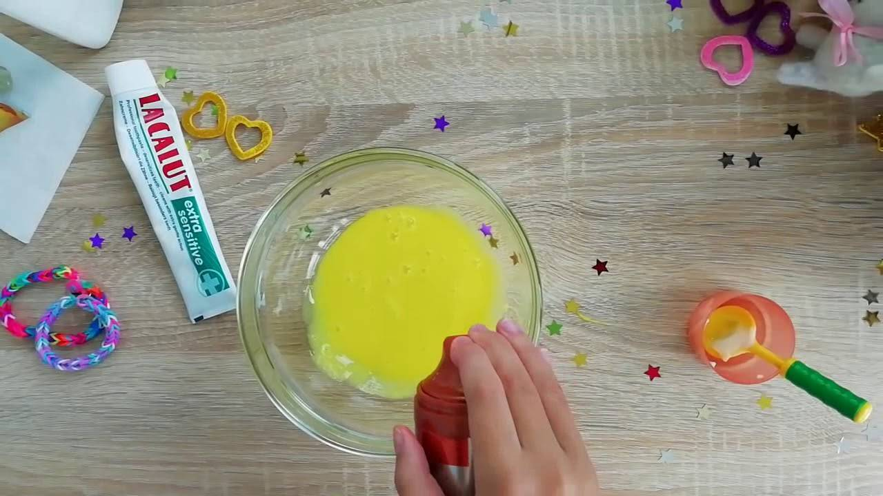 Как сделать из клея лизуна своими руками: рецепты и хранение в домашних условиях