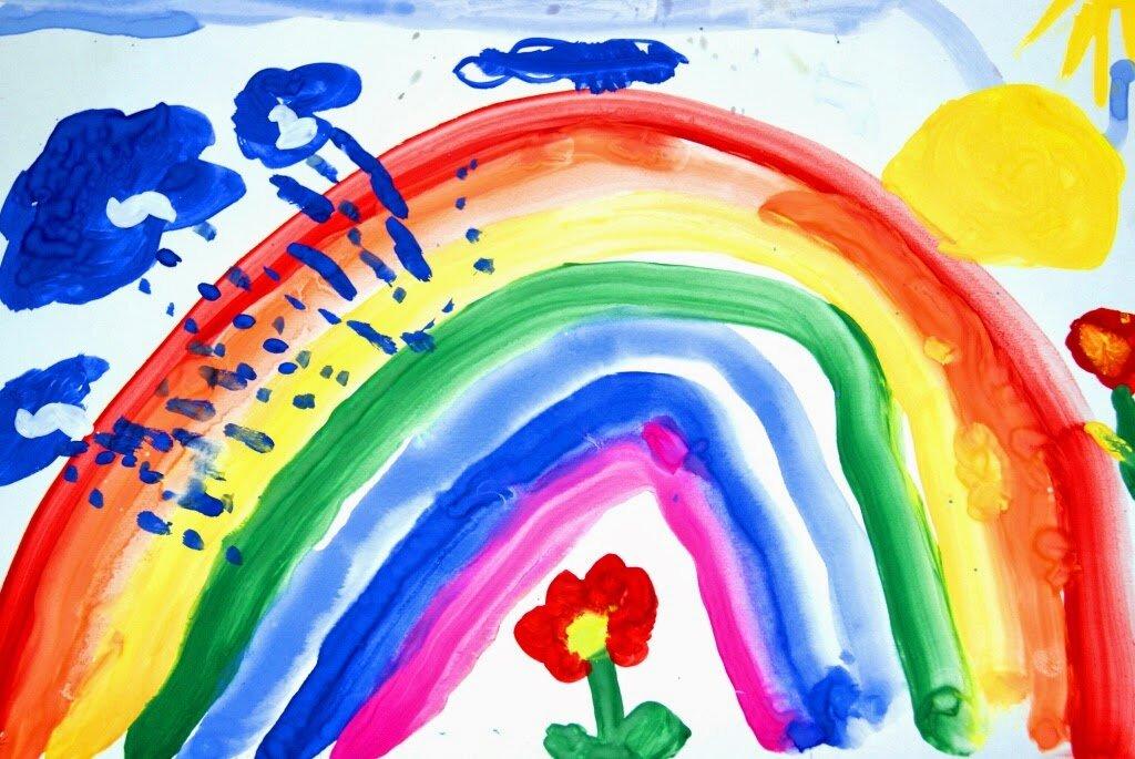 Ребенок рисует черным цветом: что это значит, почему любит черный цвет
