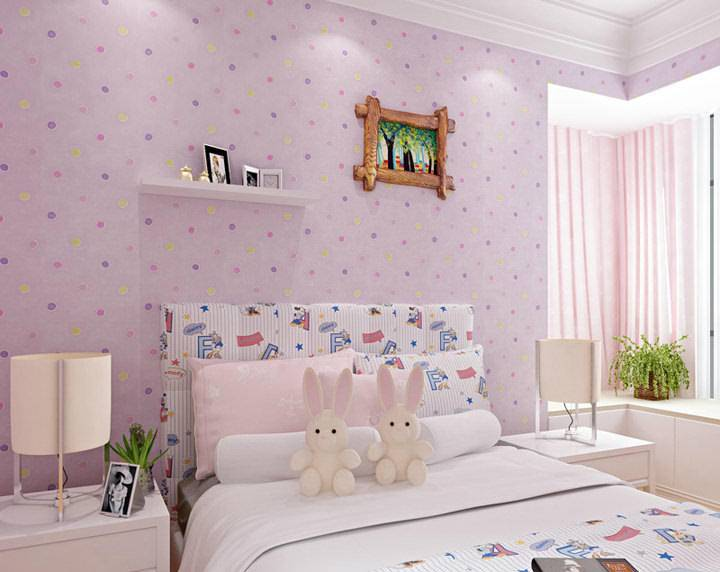 Обои для детской комнаты для девочек: фото, особенности выбора для разного возраста