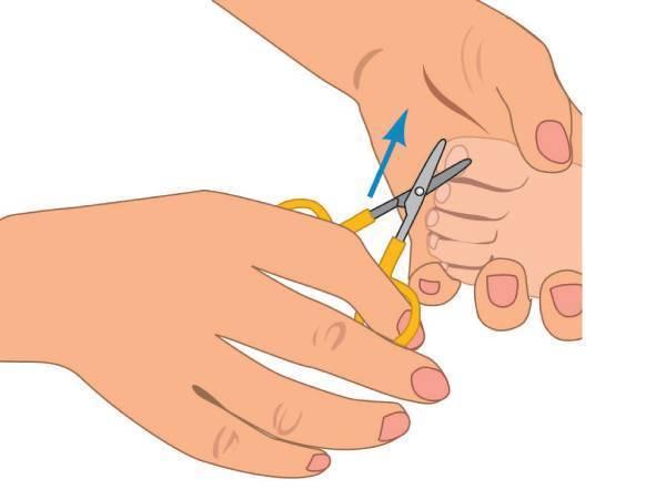Как подстричь ногти новорожденному первый раз
