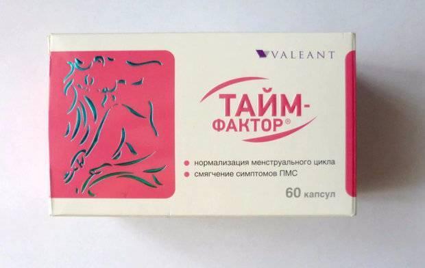 Тайм фактор: инструкция по применению препарата и его особенности