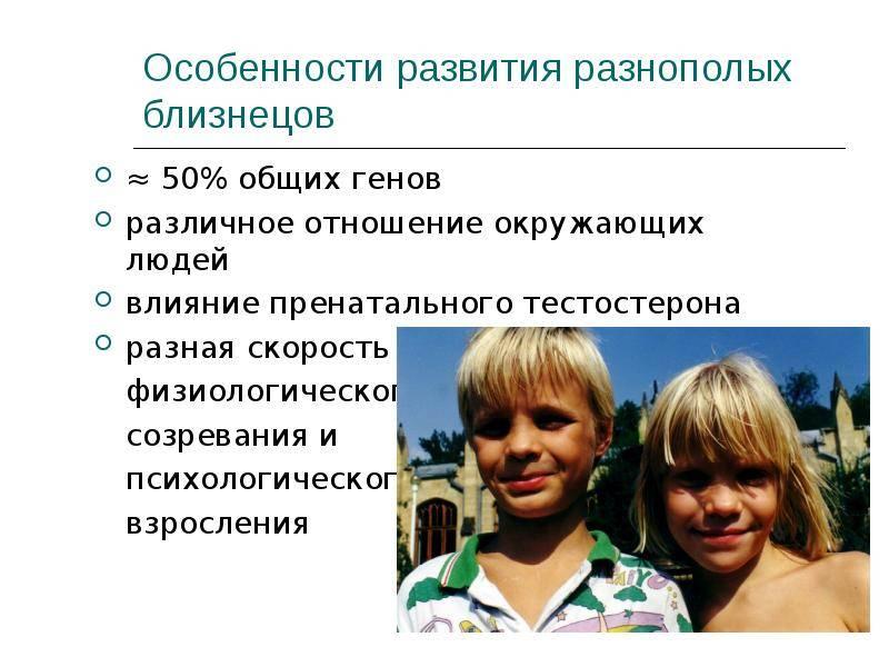 Воспитание близнецов в семье: особенности