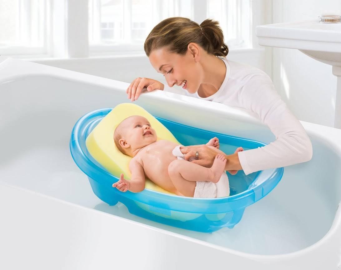 Ванночка для купания новорожденного / mama66.ru
