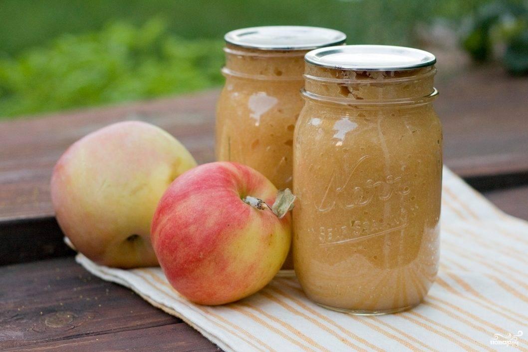 Яблочное пюре для грудничка из свежих яблок своими руками