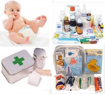 Детская аптечка для новорожденного: список и перечень необходимых лекарств
