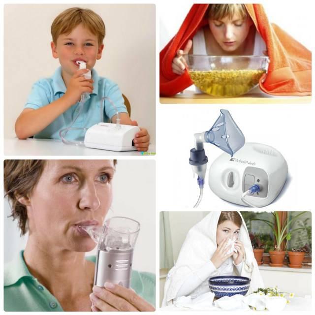 Ингаляции при насморке - можно ли делать в домашних условиях. рецепты растворов для ингаляций при насморке